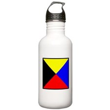 Nautical Flag Code Zulu Water Bottle