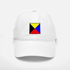 Nautical Flag Code Zulu Baseball Baseball Baseball Cap