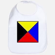 Nautical Flag Code Zulu Bib
