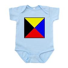 Nautical Flag Code Zulu Body Suit