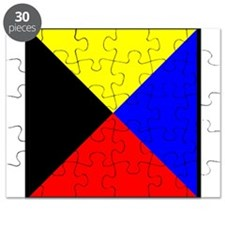 Nautical Flag Code Zulu Puzzle