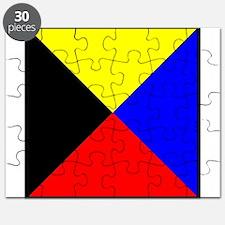Nautical Flag Code Zulu Puzzle