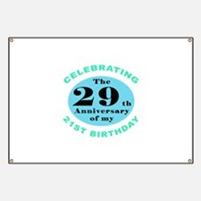 50th Birthday Humor Banner