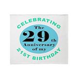 50 birthday Fleece Blankets