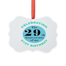 50th Birthday Humor Ornament