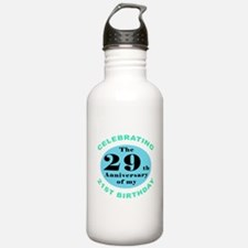 50th Birthday Humor Water Bottle