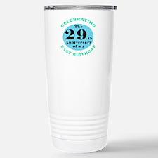 50th Birthday Humor Stainless Steel Travel Mug
