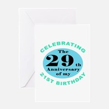 50th Birthday Humor Greeting Card