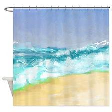 Ocean Vigor Shower Curtain