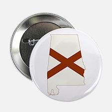 """Alabama Flag 2.25"""" Button"""
