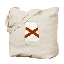 Alabama Flag Tote Bag