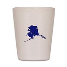 Alaska Flag Shot Glass