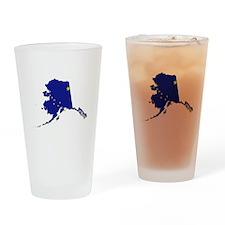 Alaska Flag Drinking Glass