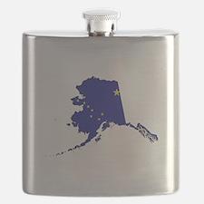 Alaska Flag Flask