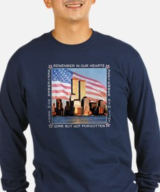 9/11 Memorial Shirt Long Sleeve T-Shirt