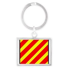 Nautical Flag Code Yankee Keychains
