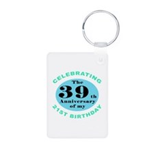 60th Birthday Humor Keychains
