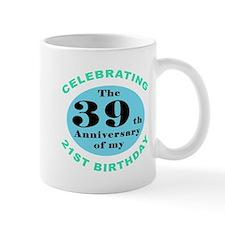 60th Birthday Humor Small Mug