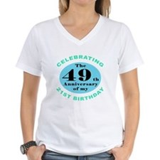 70th Birthday Humor Shirt