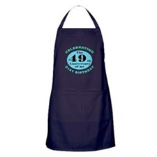 70th Birthday Humor Apron (dark)