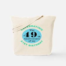 70th Birthday Humor Tote Bag