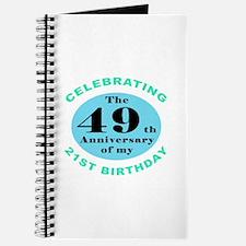 70th Birthday Humor Journal