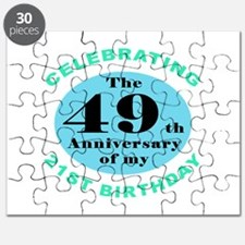 70th Birthday Humor Puzzle