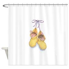 Sock Mice Shower Curtain