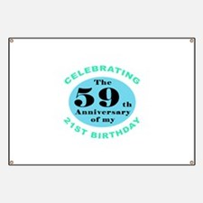 80th Birthday Humor Banner