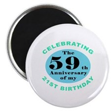 80th Birthday Humor Magnet