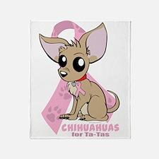 Chihuahuas for Ta-Tas Throw Blanket