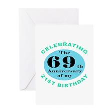 90th Birthday Humor Greeting Card