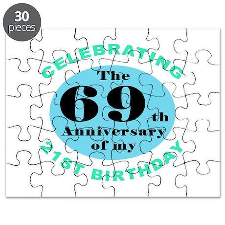 90th Birthday Humor Puzzle