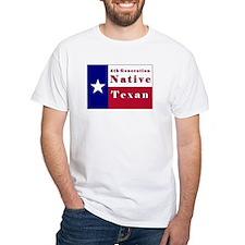 4th Generation Native Texan Flag Shirt