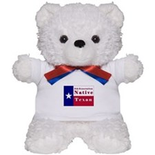 5th Generation Native Texan Flag Teddy Bear