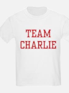 TEAM CHARLIE  Kids T-Shirt