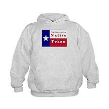 7th Generation Native Texan Flag Hoodie
