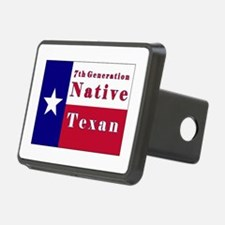 7th Generation Native Texan Flag Hitch Cover