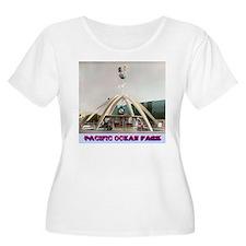 Pacific Ocean Park Plus Size T-Shirt