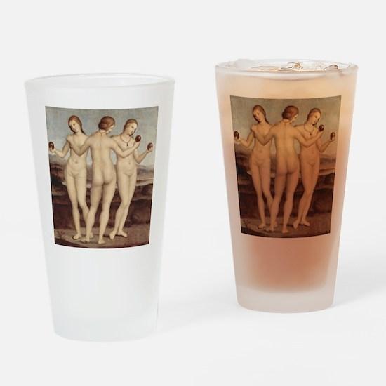 Raphael - The Three Graces - Drinking Glass