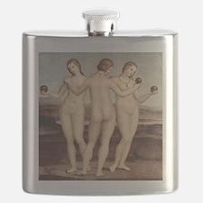 Raphael - The Three Graces - Flask