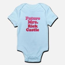 Future mrs Rick Castle pink Body Suit