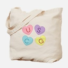 USCG Sweettarts Tote Bag