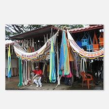Nicaraguan hammocks Postcards (Package of 8)