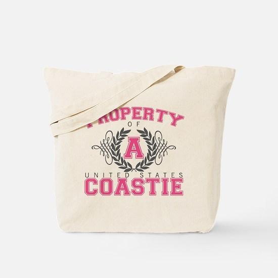 Property of a U.S. Coastie Tote Bag