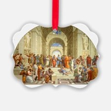 Raffaello School of Athens Ornament