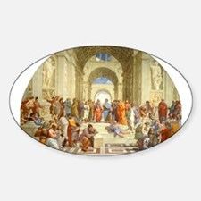 Raffaello School of Athens Decal
