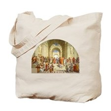 Raffaello School of Athens Tote Bag