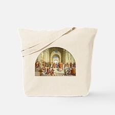 Raffaello School of Athens Tote Bag