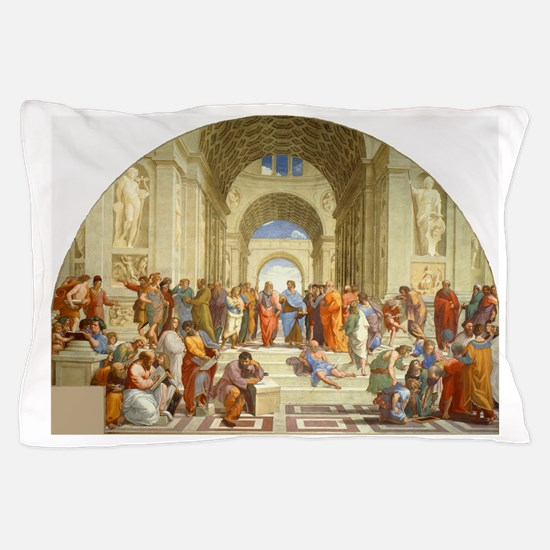 Raffaello School of Athens Pillow Case